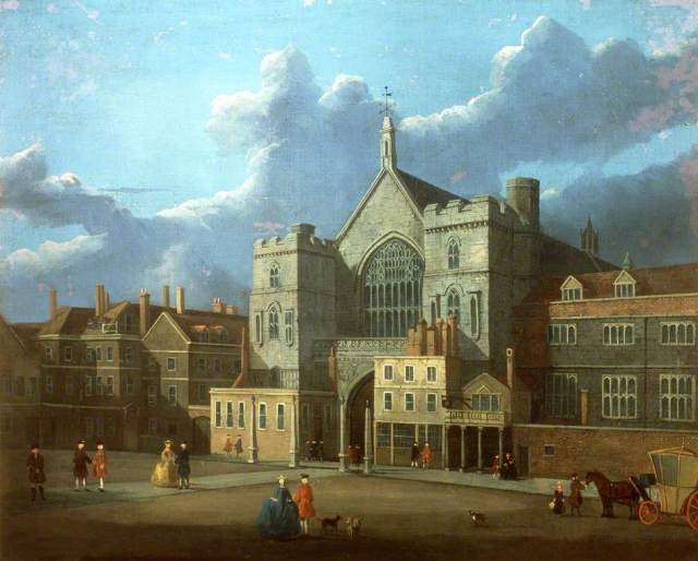 Westminster Hall and New Palace Yard by Thomas Sandby (attributed to) (c) Palace of Westminster