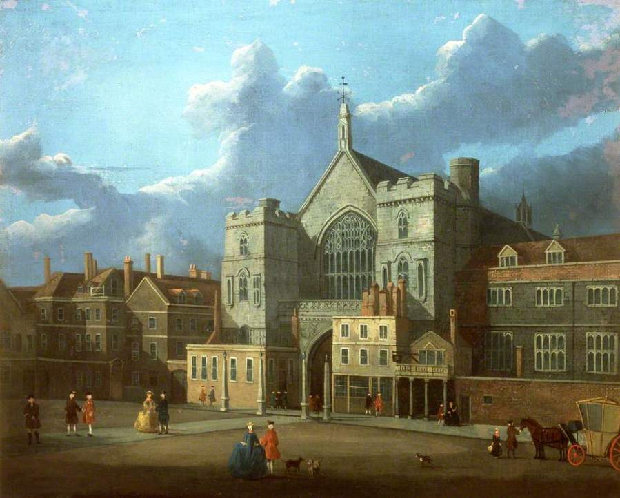 Westminster Hall and New Palace Yard by Thomas Sandby (attributed to) (c) Palace of Westminster;