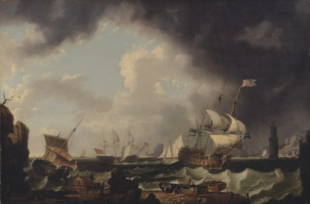 The Fishery by Richard Wright, c.1764. Yale Center for British Art, Paul Mellon Collection