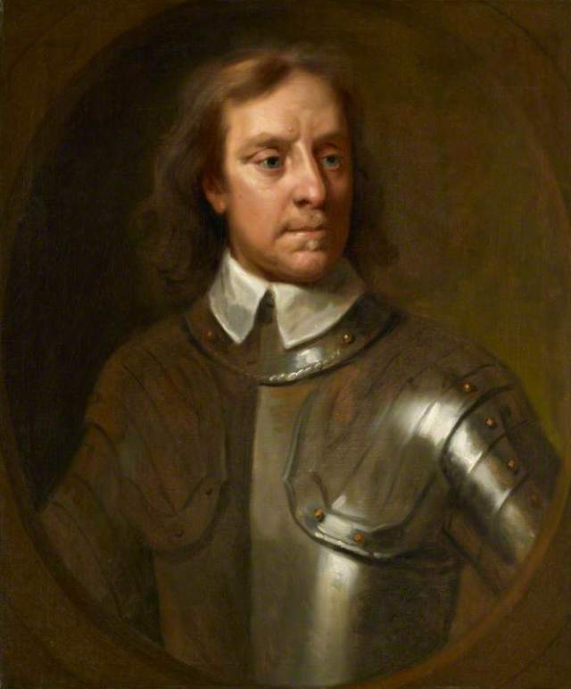 Oliver Cromwell; Samuel Cooper; National Portrait Gallery, London