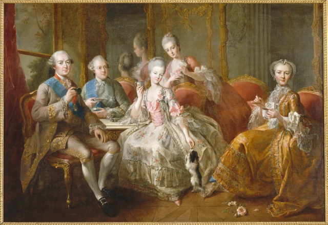 The Family of the Duke of Penthièvre in 1768 by Jean-Baptiste Charpentier the Elder, 1768, Château de Versailles.