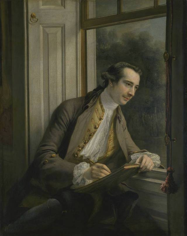 Paul Sandby 1761 Francis Cotes 1726-1770 Bequeathed by W.A. Sandby 1904 http://www.tate.org.uk/art/work/N01943