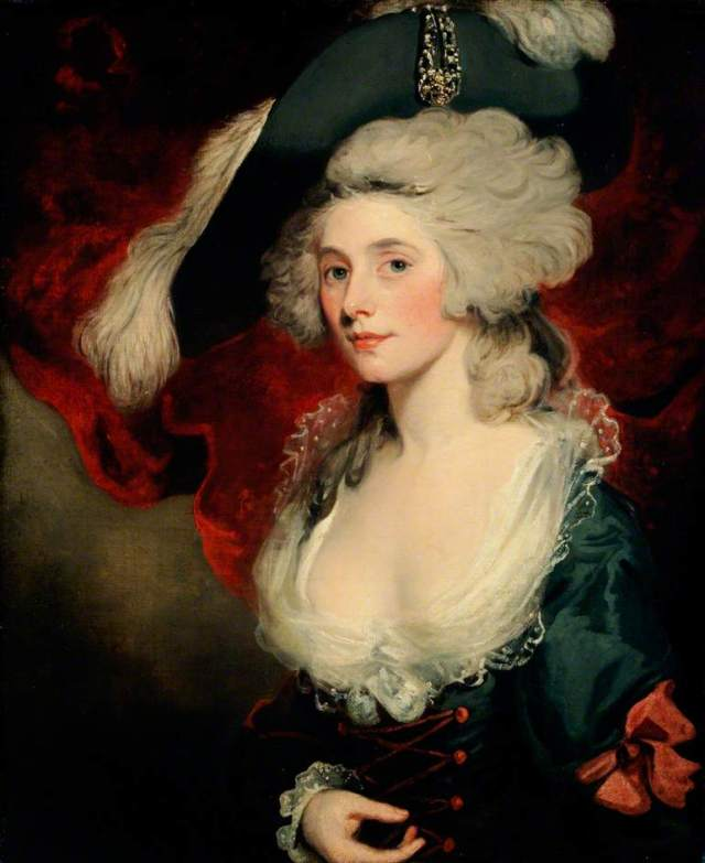 Mrs Mary Robinson (1758–1800), as 'Perdita' by John Hoppner, c.1782. (c) Chawton House Library; Supplied by The Public Catalogue Foundation