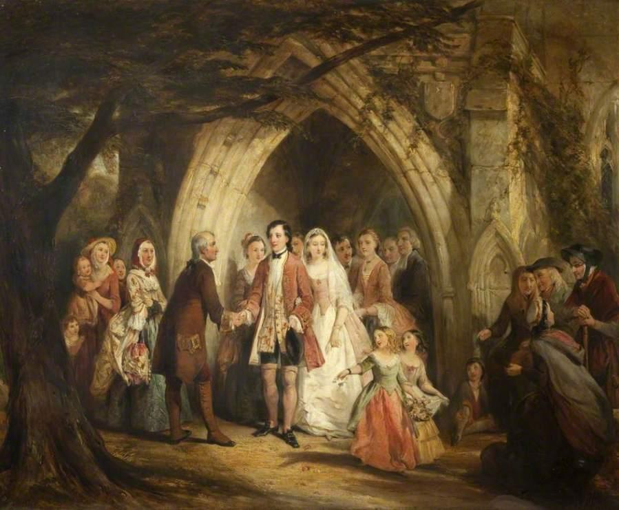 The Village Wedding, Thomas Falcon Marshall