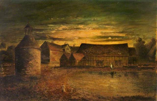 Haunted Hillborough, Warwickshire by British School (c) Shakespeare Birthplace Trust; Supplied by The Public Catalogue Foundation