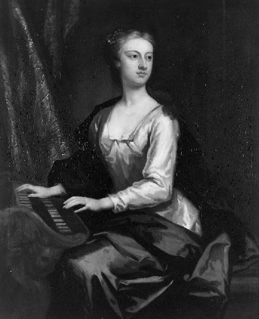 Anastasia Robinson c.1727 via Wikimedia