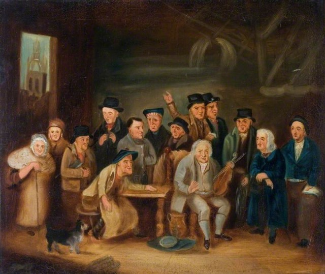 Eccentric Characters of Newcastle by Henry Perlee Parker (after) (c) Laing Art Gallery; Supplied by The Public Catalogue Foundation