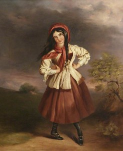 A Dancing Colleen in a Landscape by John Joseph (c) National Trust, Sunnycroft; Supplied by The Public Catalogue Foundation
