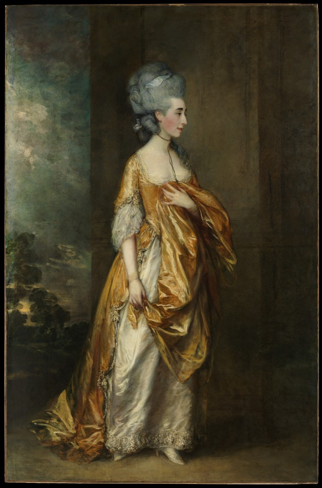 Mrs Grace Dalrymple Elliott by Thomas Gainsborough (Metropolitan Museum of Art).
