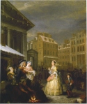The Four Times of the Day: Morning by Hogarth.