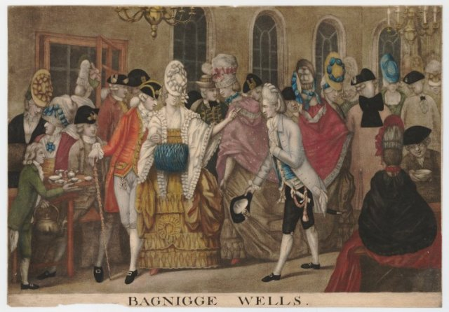 Bagnigge Wells, 1783 © The Trustees of the British Museum