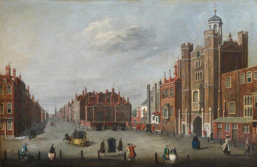 St James's Palace with a View of Pall Mall; National Trust Collections