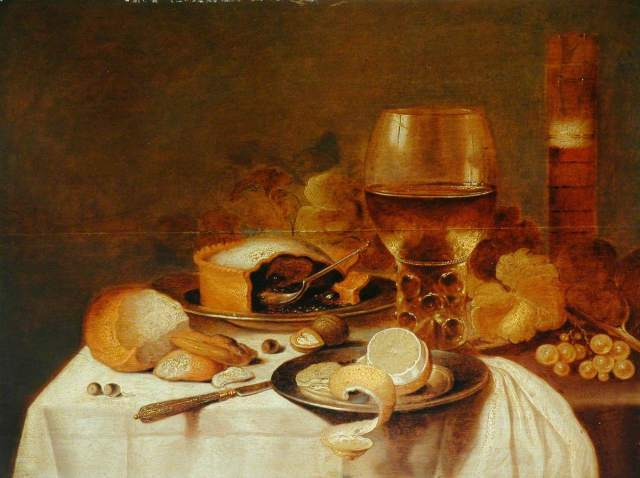 Breakfast Still Life; Pieter Claesz; Roebuck Collection
