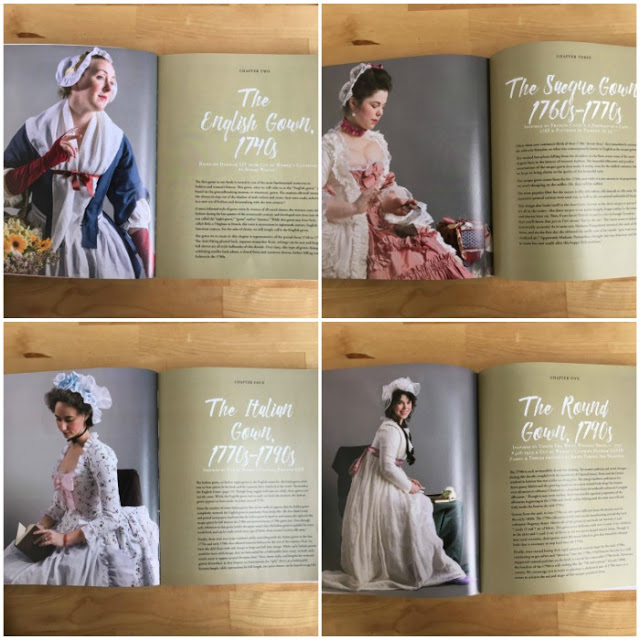 There are instructions for making four gowns in the book. © American Duchess