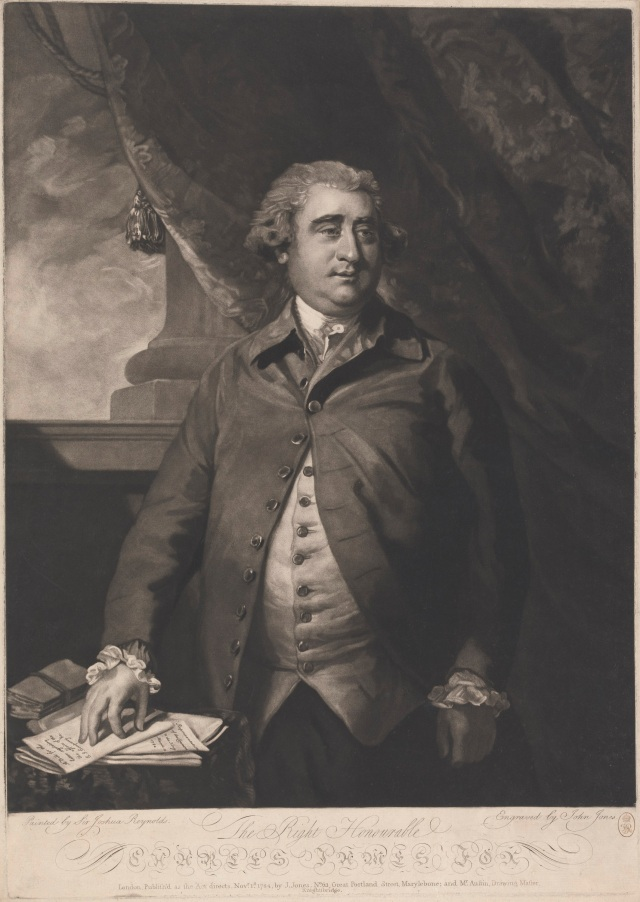 Charles James Fox. Courtesy of Yale Center for British Art