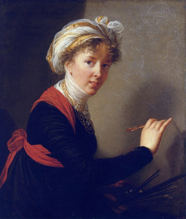 Self portrait of Marie-Elizabeth-Louise Vigée Le Brun, 1800. Courtesy of the State Hermitage Museum