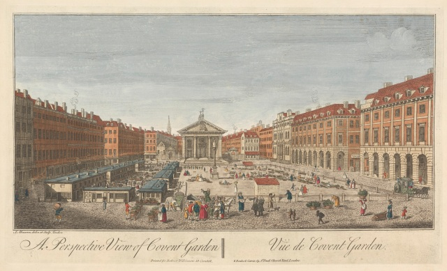 A Perspective View of Covent Garden. Courtesy of Yale Center British Art