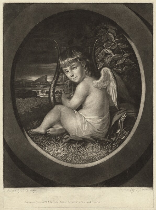 Richard as a child - how angelic! © National Portrait Gallery, London