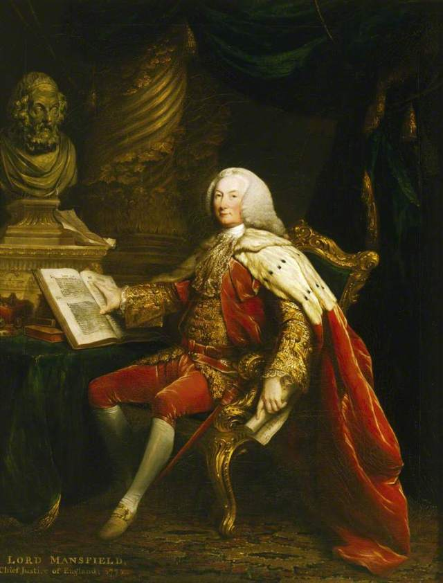 William Murray (1705-1793), 1st Earl of Mansfield; David Martin