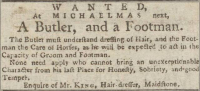 Kentish Gazette, 20 September 1780.