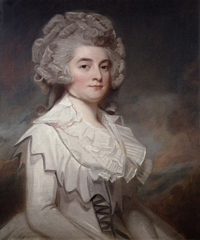Miss Mary Finch Hatton by George Romney, 1788.