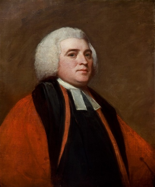 Richard Farmer by George Romney. Emmanuel College, University of Cambridge