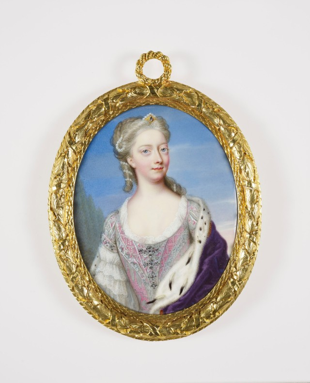 Princess Amelia (1711-1786) by Christian Friedrich Zincke, c.1729-30.