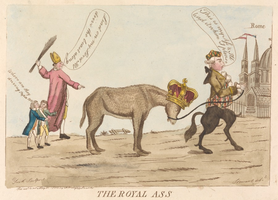 The Royal Ass, 1780.