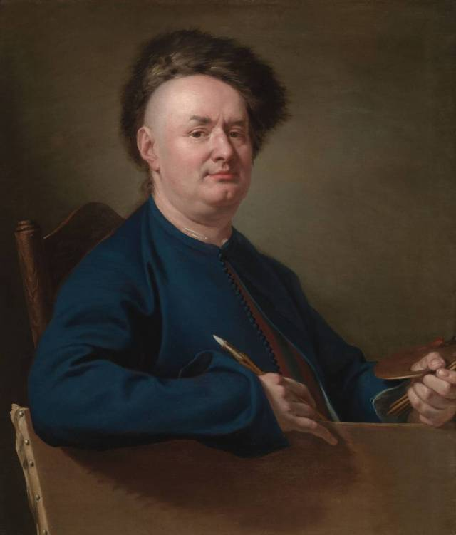 Joseph Van Aken, The Drapery Painter by Thomas Hudson. (Writing in 1743 George Vertue observed in one of his notebooks that the most skilled living drapery painter was Joseph Van Aken.)