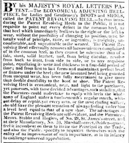 Morning Post 10th October 1818