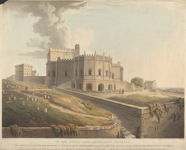 The New Buildings on the West Front of Lancaster Castle. Yale Center for British Art