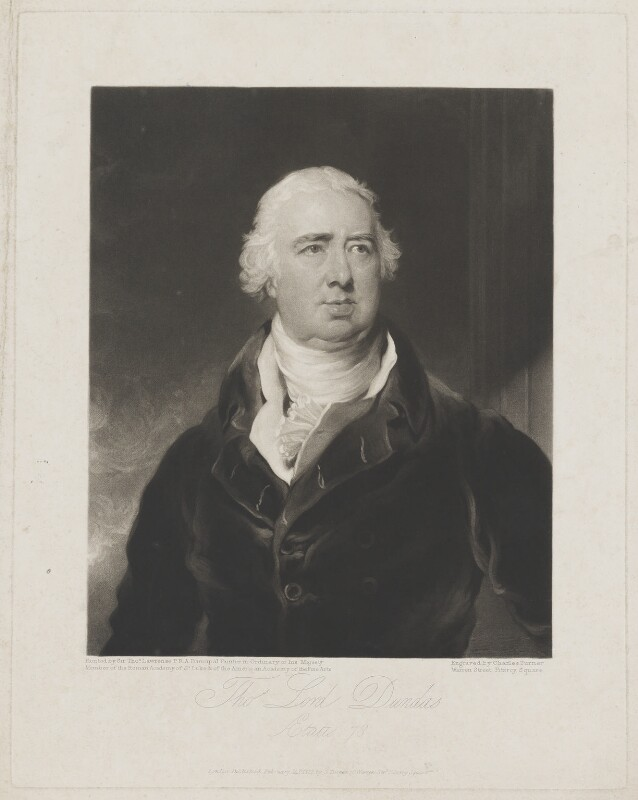 Thomas Dundas, 1st Baron Dundas. NPG